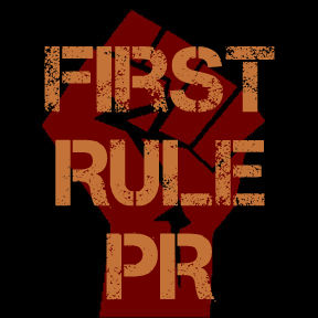 First Rule PR Web Button