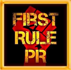 First Rule PR Host Badge